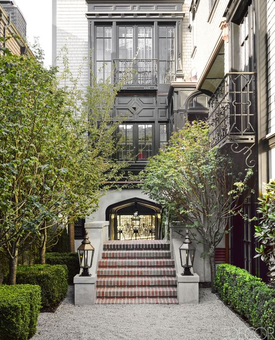 HOUSE TOUR: A Designer Revives A Faded 19th-Century Landmark:
