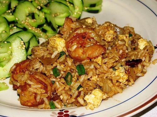 Shrimp fried rice, Fried rice and Shrimp on Pinterest