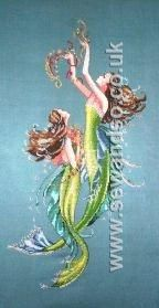 Buy MD85 - Mermaids of the Deep Blue Chart online at sewandso.co.uk