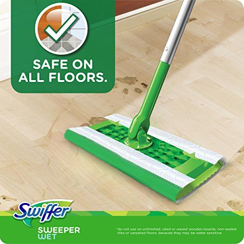 Swiffer Sweeper Wet Mop Pad Refills For Floor Mopping And Cleaning All Purpose Multi Surface Floor Cleaning Product Gain Scent In 2020 Wet Mop Pads Swiffer Wet Mops