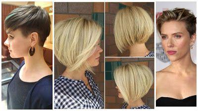 3 Tipos de cabello corto para chicas que quieren verse bien y a la moda ~ Belleza y Peinados