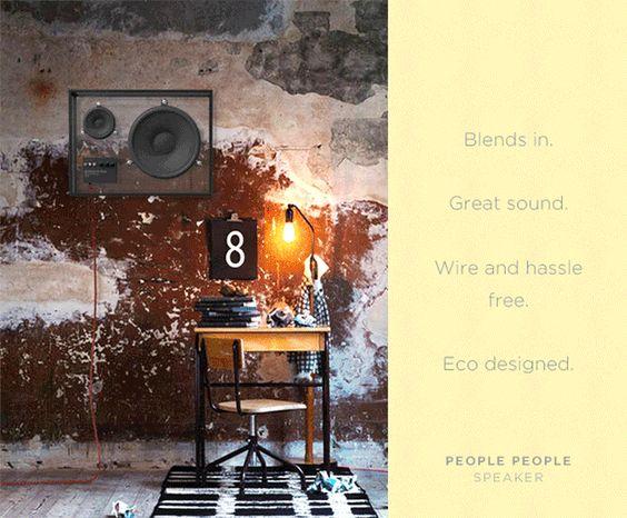 Durchsichtiger Lautsprecher – The People People Speaker
