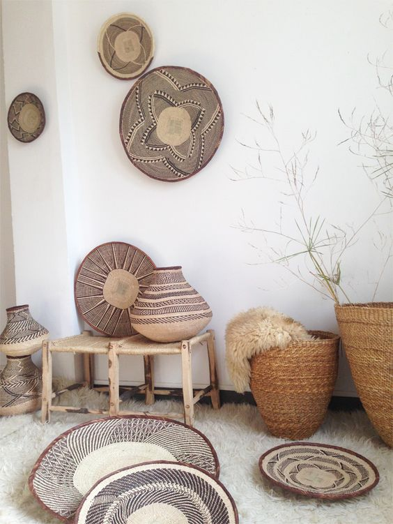 african basket #walldecor ©lovmint