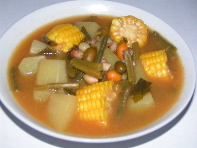 sayur asem very indonesian food..love it <3