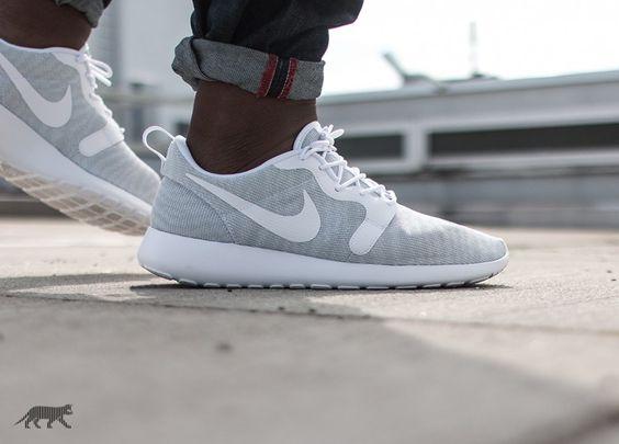Nike Roshe One Kjcrd (Pure Platinum / White - White)