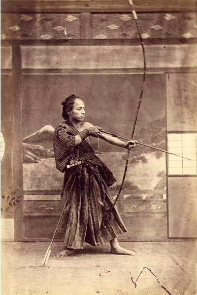Japanese Archer, 1870. the saggittarius in me loves this