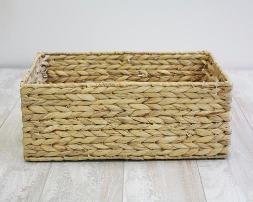 Rgi Home Havan Weaved Water Hyacinth Basket At Menards Rgi Home Havan Weaved Water Hyacinth Basket Decorative