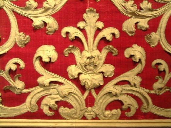 A 17th Century Italian baroque stump work.