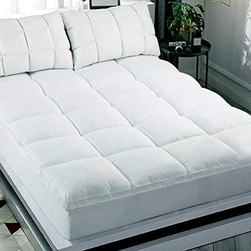 Abakan Extra Thick Mattress Topper Twin Xl Size Soft Mattress Pad
