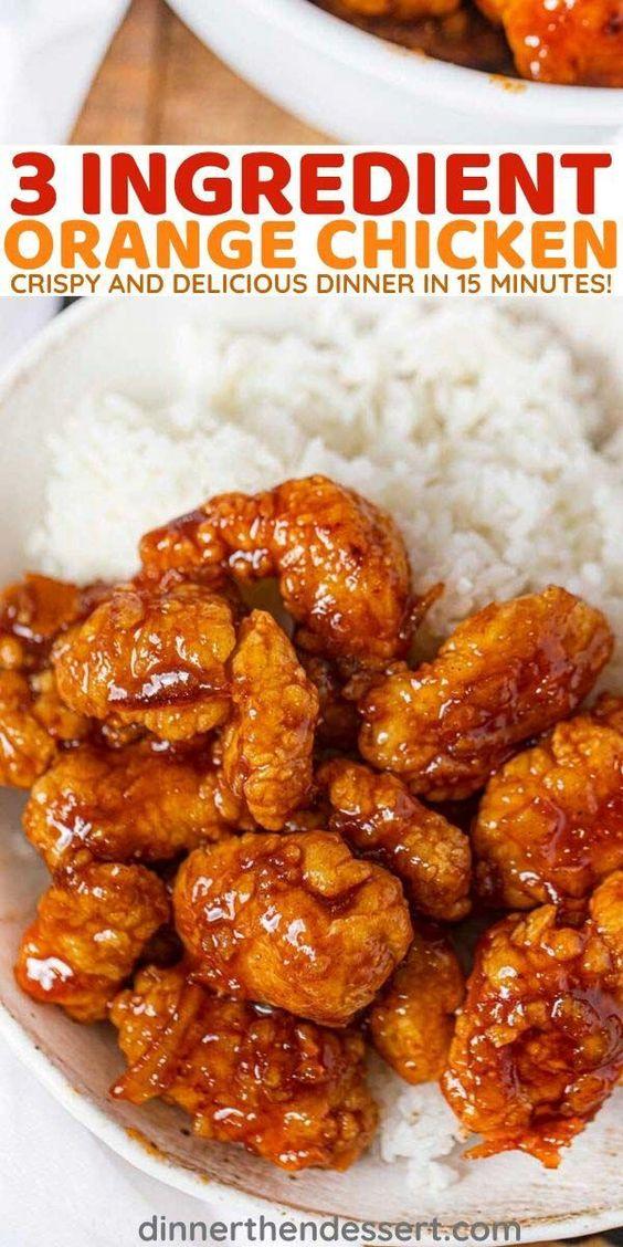 3 Ingredient Orange Chicken (Orange Marmalade BBQ)