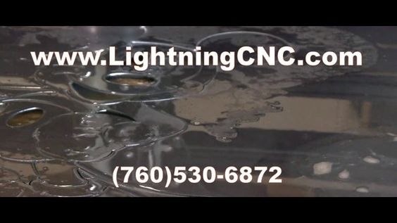 This Lightning CNC table is using a Hypertherm Powermax 45 Plasma Cutter.  The M7 model has a Touch and Go material locating head with a Proma Torch Height Controller. Software used is ViaCad, Mach3, and SheetCam.  Visit LightningCNC.com for more information on this unit.