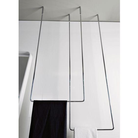 Gaia interni arredo bagno online selling of bath - Bathroom accessories towel racks ...