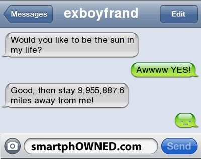 Ex-Boyfriend - Relationships - Autocorrect Fails and Funny Text Messages - SmartphOWNED