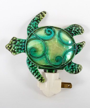 Take a look at this Green Sea Turtle Night-Light by Seaside Style: Home Accents on @zulily today!