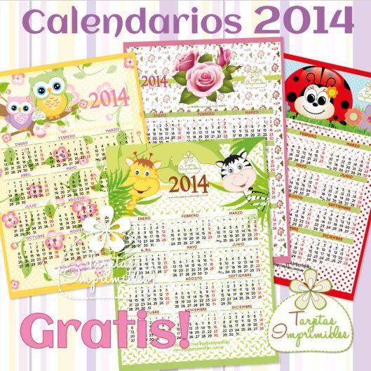 Calendarios para imprimir gratis con los dise os - Disenos de calendarios ...