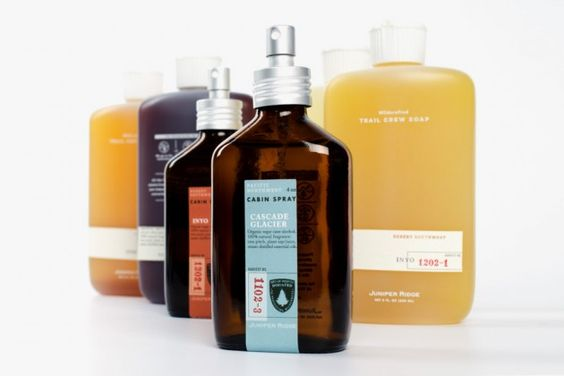 """Juniper Ridge is """"the world's only wild fragrance company"""" that bottles scents from harvested wild plants, moss and trees from the outdoors of America's West Coast. Founder Hall Newbegin calls Juniper Ridge a collective of hikers, not perfumers, who seek 100% organic and natural ingredients. Indeed, their """"backpacker's colognes"""" make you feel like you are actually out in the woods, with pungent natural smells reminiscent of grass, rain and hiker trails."""