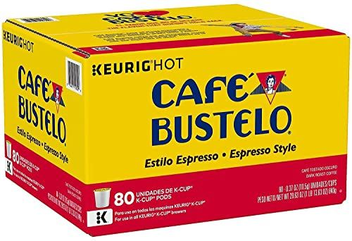 Best Seller A Product Cafe Bustelo Espresso Style Coffee K Cups 80 Ct Online Pptoplike In 2020 Dark Roast Coffee Cafe Bustelo Coffee Roasting