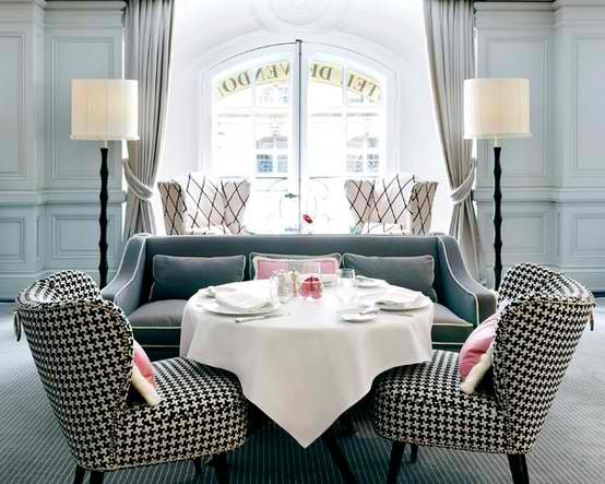 Houndstooth Chairs