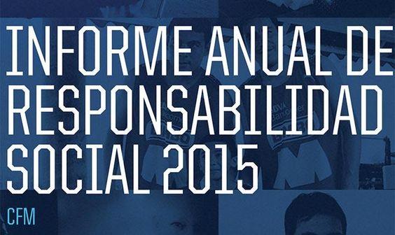Informe Anual de Responsabilidad Social Club de Futbol Monterrey
