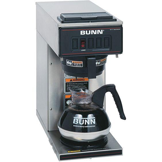Bunn VP17-1SS 1-warmer Pourover