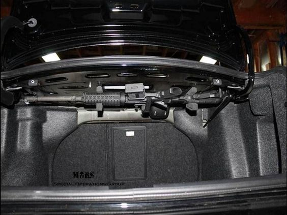 Under Trunk Security System Living Guns Knives And