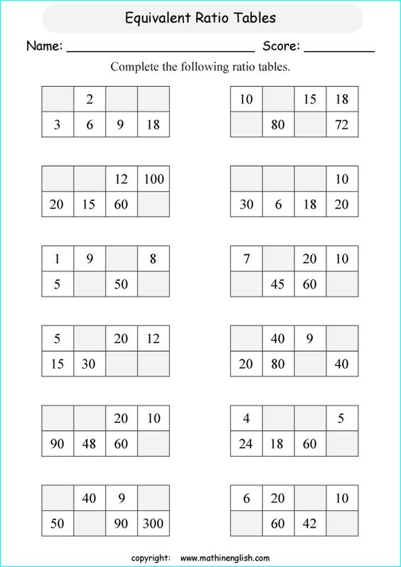 Printables Proportional Reasoning Worksheets math worksheets and printable on pinterest worksheets