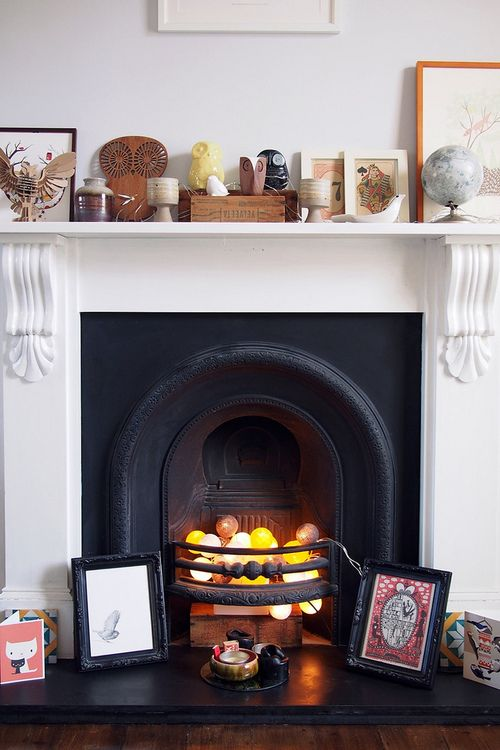 #fireplace #home decor: