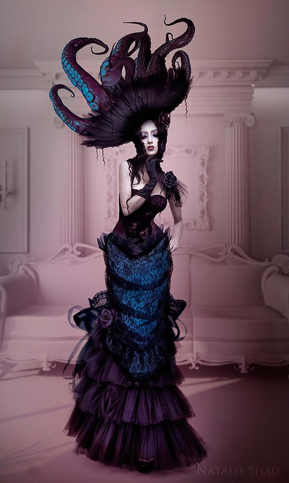Natalie Shau is an illustrator and photographer of Russian and Kazakhstan descent based in Lithuania. She works mainly in digital media and Natalie's works are mixture of her photography, digital painting and 3D elements. She enjoys creating surreal and strange creatures, fragile and powerful at the same time.
