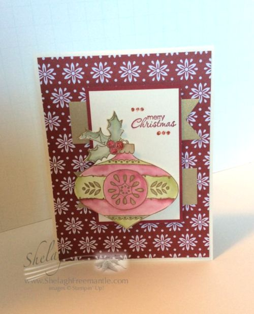 Christmas bauble stamp set