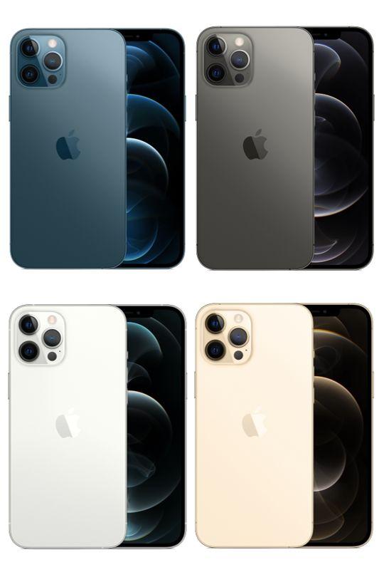 Apple Iphone 12 Pro Max 6 7 A2411 128gb 256gb 512gb Blue Graphite Silver Gold Apple Smartphone Iphone Iphone Case Protective