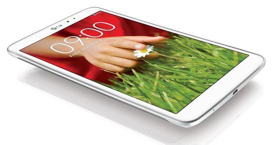 LG G Pad 8.3: 8 Zoll Full HD Tablet offiziell vorgestellt  LG will mit seinem G Pad 8.3 den Tablet-Markt aufmischen: Mit dem  ...