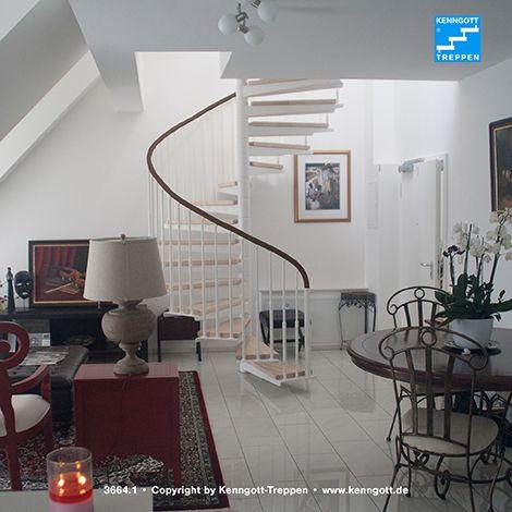 kenngott metall spindeltreppe mit buche massivholzstufen und gel ndersystem chopin mit. Black Bedroom Furniture Sets. Home Design Ideas