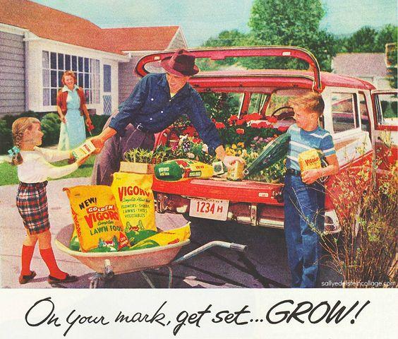 vintage family advertisements 1950s ad suburban family