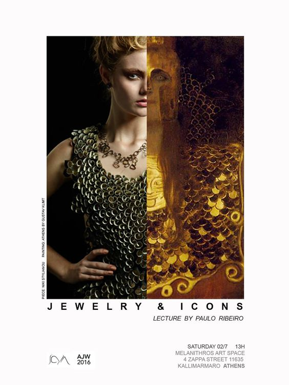 """JEWELRY & ICONS"" Lecture by Paulo Ribeiro ATHENS JEWELLERY WEEK:"