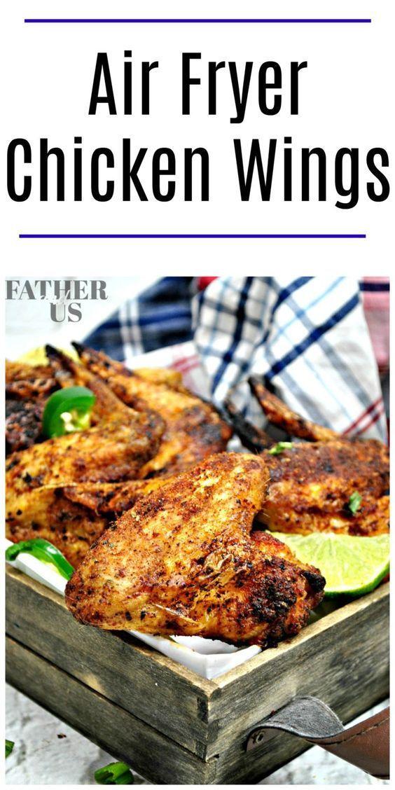 air fryer chicken wings dry rub recipe