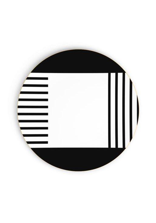 tendance n o memphis des couleurs pop et un graphisme stylis assiette d ner via goodmoods. Black Bedroom Furniture Sets. Home Design Ideas