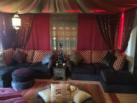 Lovesac Hookah Lounge Featuring Sactionals   Awesome Couches   Pinterest    Lounge Ideas, Genie Bottle And Moroccan