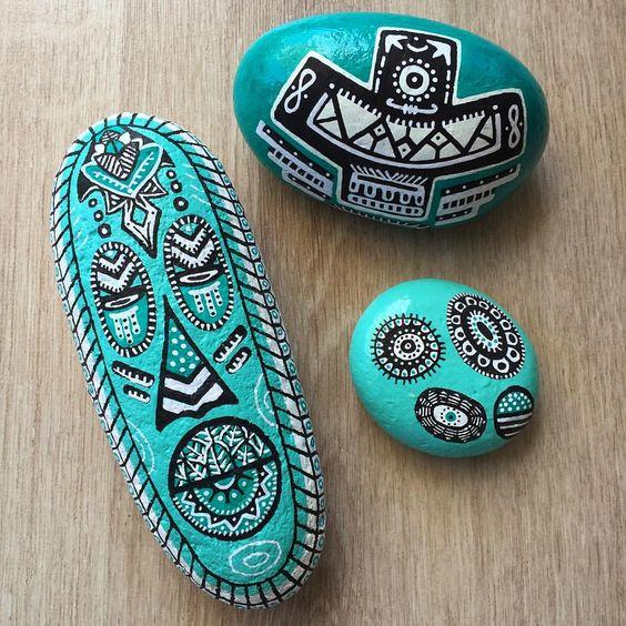 """130 Beğenme, 3 Yorum - Instagram'da BARBA LeatherWorks (@barbaleatherworks): """"Genetik kodlarımı arıyorum çizgilerde... #aztec #aztecdesign #inca #aztek #stonepainting #mandala…"""""""