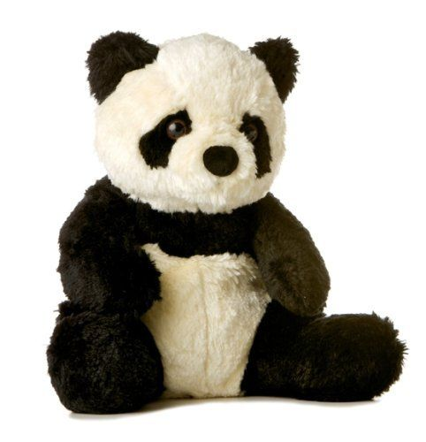 """Aurora Naturally 12"""" Soy Panda by Aurora World Inc. $25.00. From the Manufacturer                The Aurora Naturally 12"""" Soy Panda is from the Aurora World, which is a premier manufacturer of gift plush, stuffed animals and soft toys. For 25 years, Aurora has brought you the latest trends and styles in the newest and softest fabrics.                                    Product Description                An ecological sound alternative to traditional fibers. Aurora Natur..."""