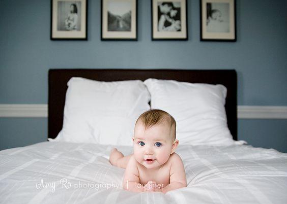 6 month portrait