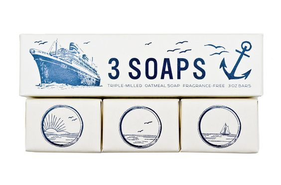 Izola Maritime Soap Set (found via @Pennyweight)