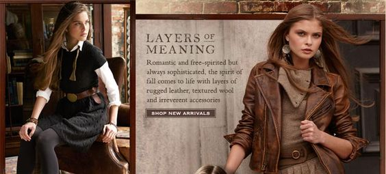 Rugby by Ralph Lauren has so many gorgeous outfits... a girl can dream=)