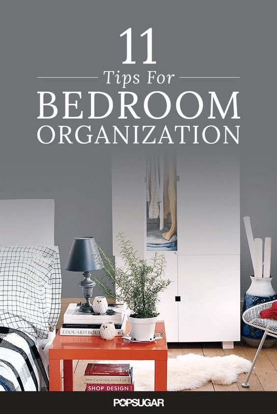 Tips Bedroom Organization And Simple On Pinterest