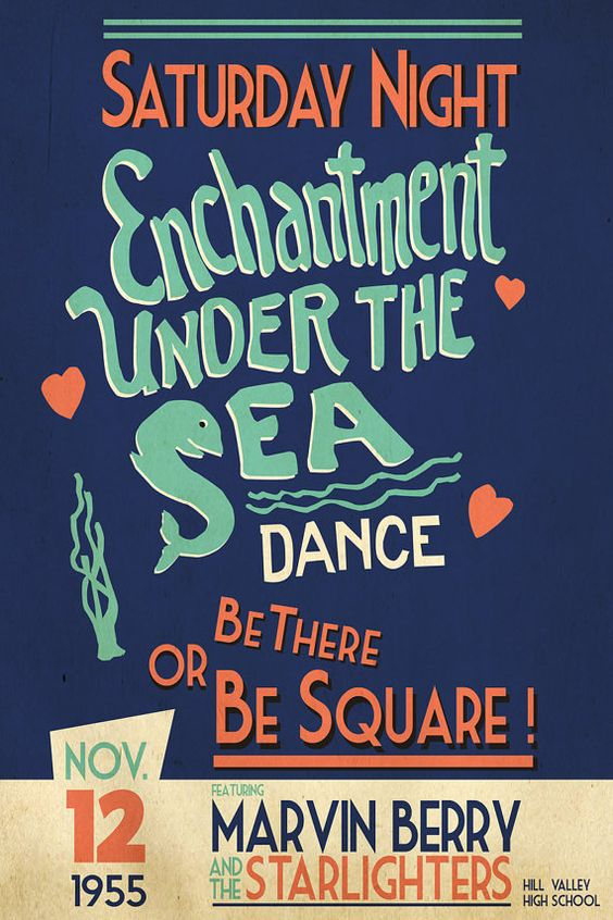 Image result for enchantment under the sea dance poster