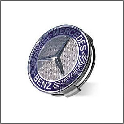Mercedes Benz Blue Classic Logo Wheel Center Cap $21.95