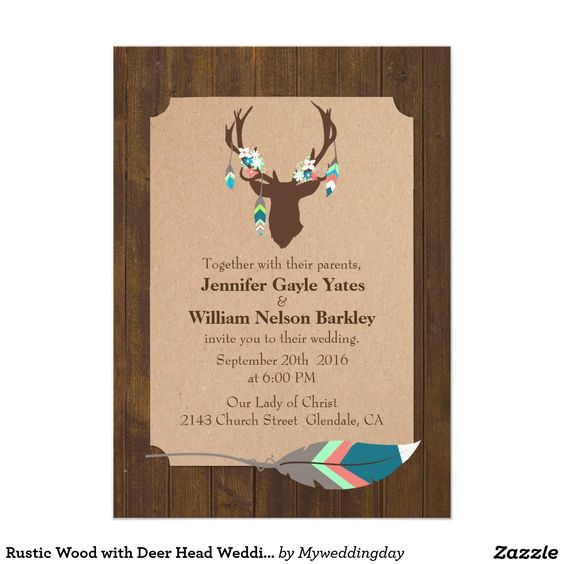 Wood Invitations for amazing invitation layout