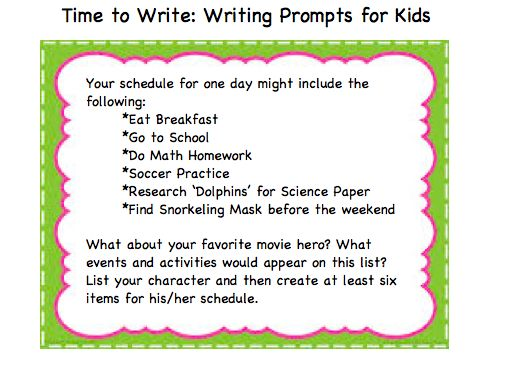 Critical thinking and writing activity creating a favorite movie character's day planner