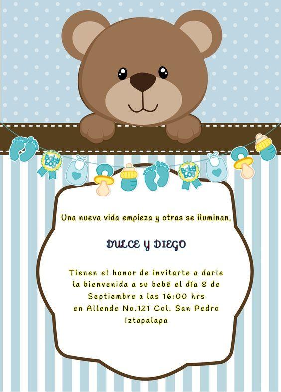 Invitación Baby Shower Baby Shower Carteles Imprimibles