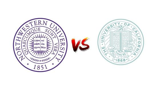 COMPARE NORTHWESTERN UNIVERSITY VS. UNIVERSITY OF CALIFORNIA, SAN FRANCISCO
