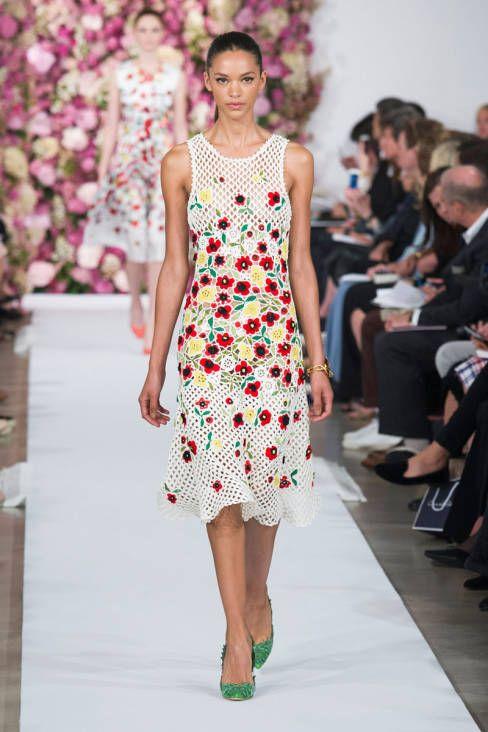 Oscar de la Renta Spring 2015 Ready-to-Wear - Oscar de la Renta Ready-to-Wear Collection